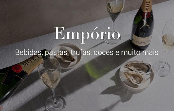 Emporio Vinhos Pastas Doces Trufas Bebidas Brasil Online Comprar. Qualidade Premium Colavita Dengo MOËT HENNESSY Mistral e muito mais.