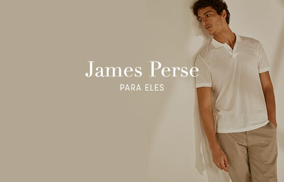 James Perse Brasil Online. Botão Comprar.