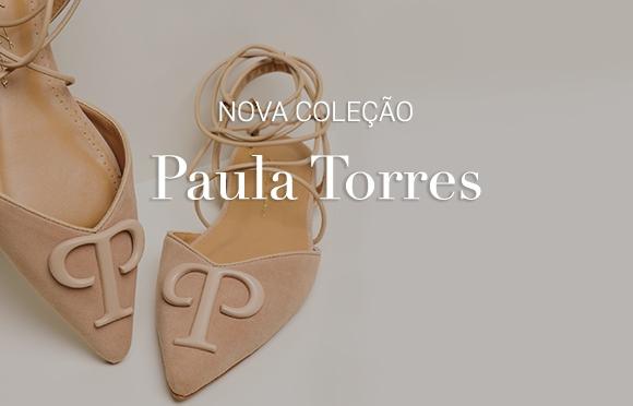 Moda Feminina. Papete Mulher. Calçados femininos. Paula Torres Brasil Online. Botão Comprar
