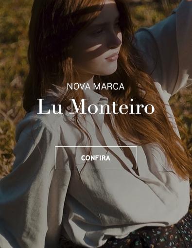 Artigos de Luxo , Moda Feminina , alfaiataria  matérias nobres, couro Lu Monteiro Brasil Online. Botão Comprar.