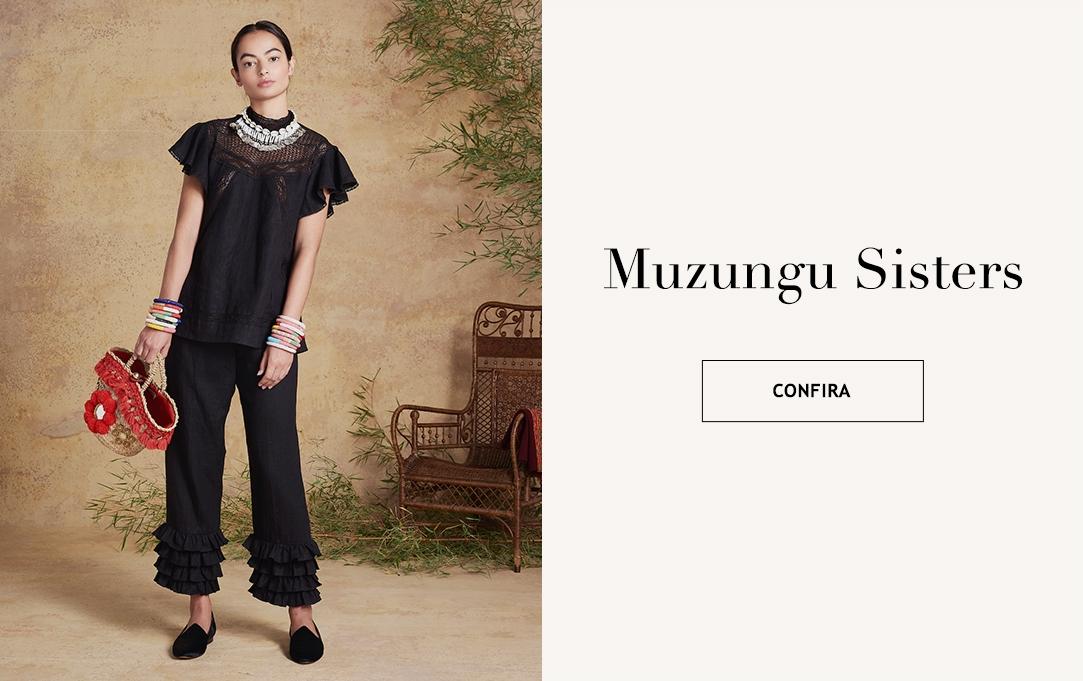 Moda de luxo Materiais Naturais e Sustentáveis responsabilidade social vestuário feminino Muzungu Sisters Brasil Online