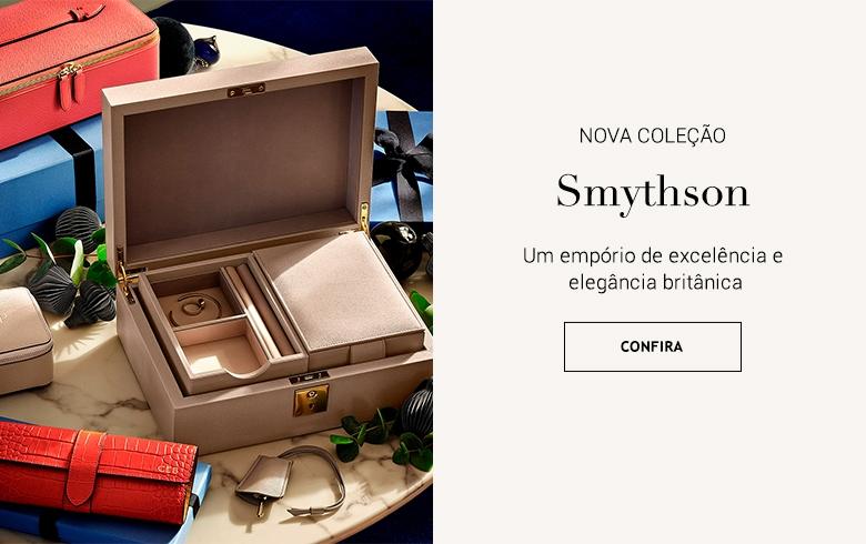 Smythson Acessórios cadernos de couro agendas artigos de papelaria e decoração Brasil Online. Botão Comprar