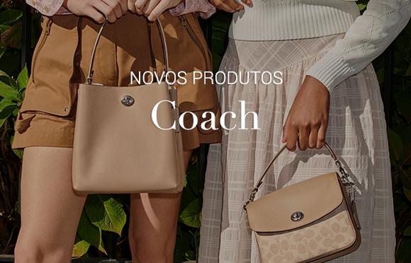 Bolsas Coach Moda de Luxo Bolsas de Excelente Acabamento e Estilo Elegante e Refinado.