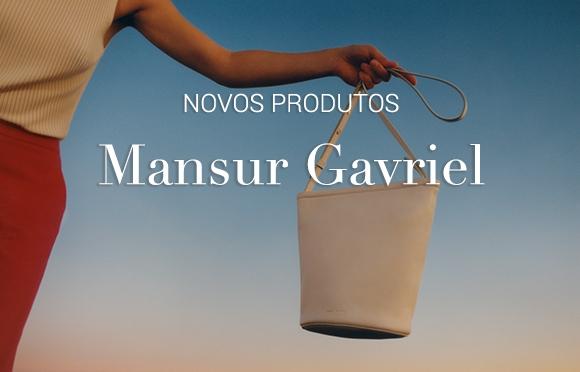 Modernas e Luxuosas. Bolsas de Couro Moda feminina acessórios moda de luxo Mansur Gavriel Brasil Online.