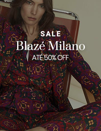 Sale - Blazé Milano - Descontos de Até 50%