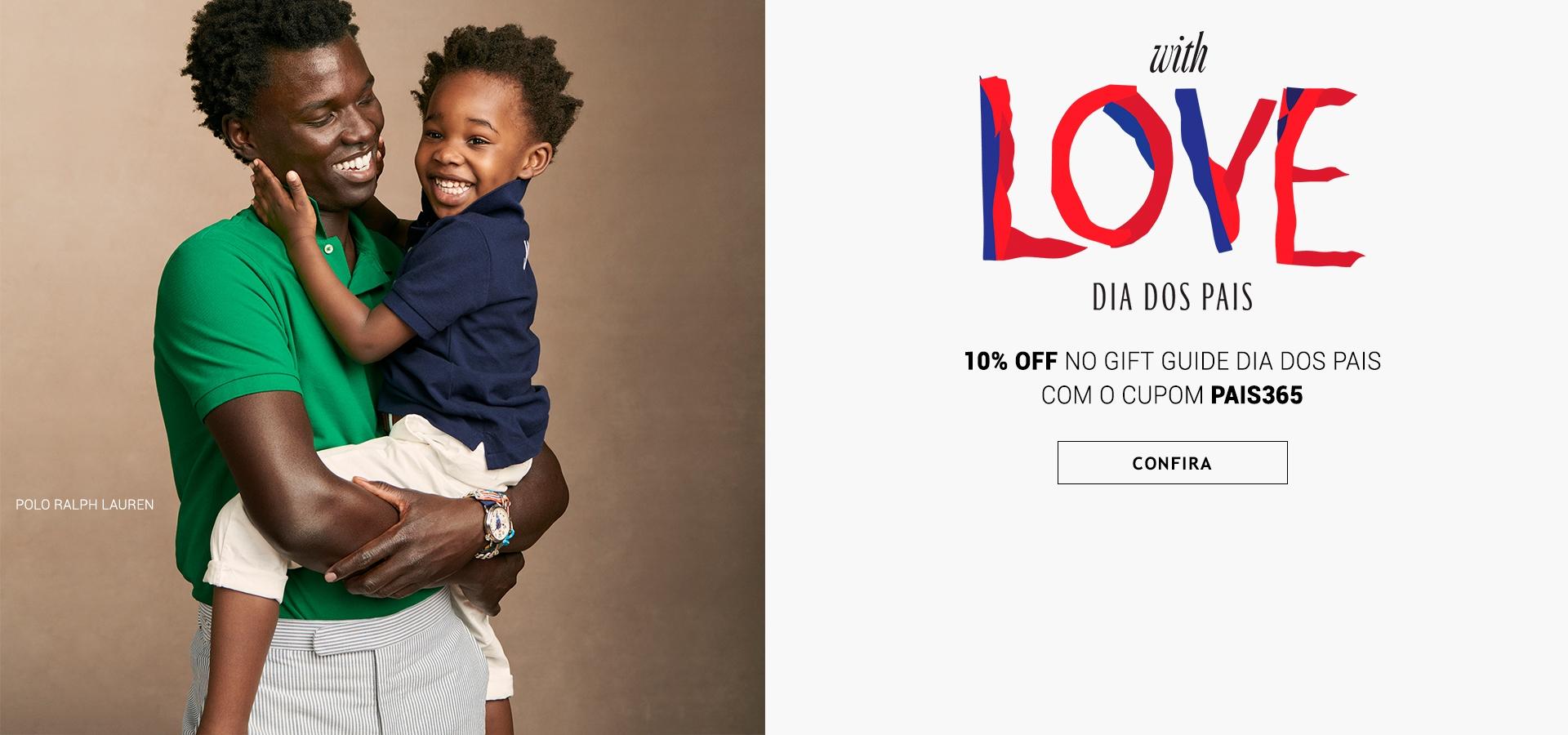 Moda masculina feminina acessórios moda de luxo melhoras marcas internacionais nacionais com desconto 10% OFF. Presentes Dia dos Pais 2021 Tendência Gift Guide Brasil Online