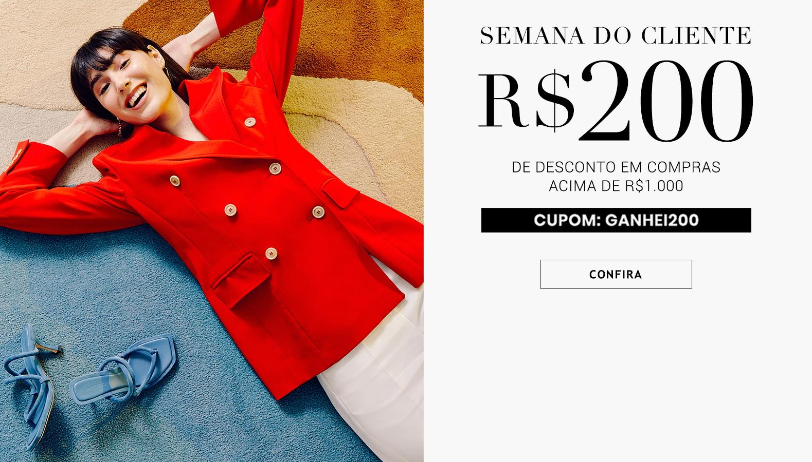 Semana do Cliente desconto moda de luxo brasil online cupom Iguatemi 365