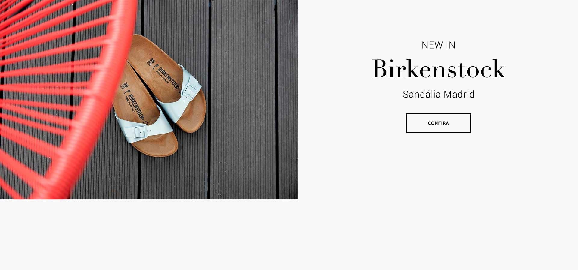Birkenstock calçados de qualidade premium Sandálias com palmilhas anatômicas Brasil Online. Botão Comprar