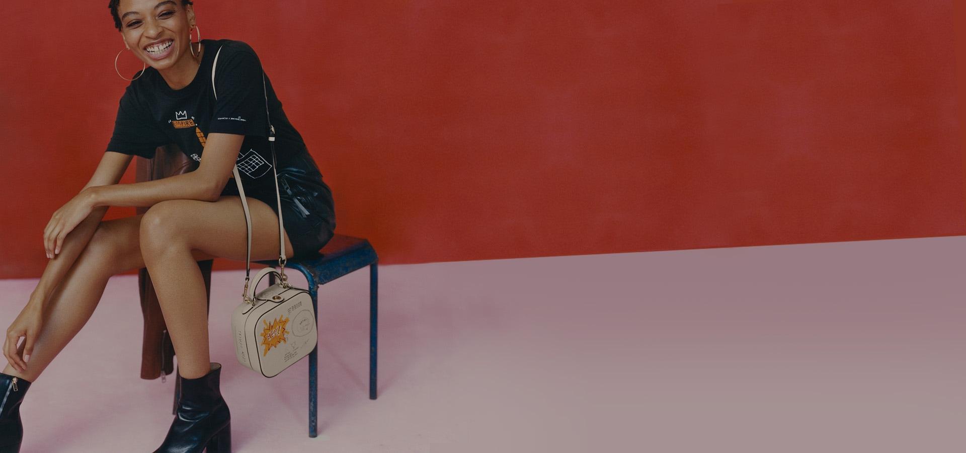Coach Basquiat Brasil Online. Novos produtos confira.