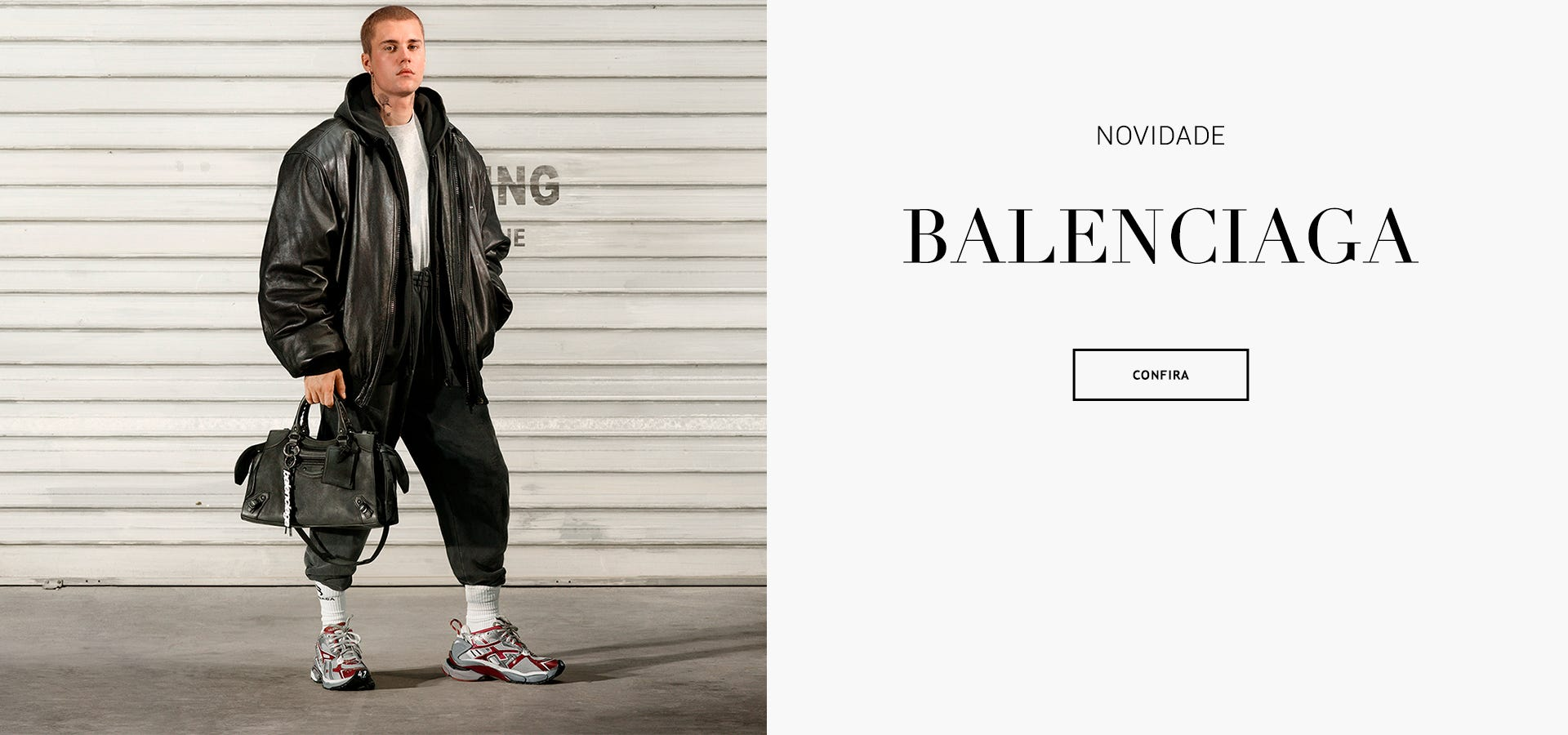 Moda de Luxo Bolsa Tenis Roupas Balenciaga Brasil Online. Confira