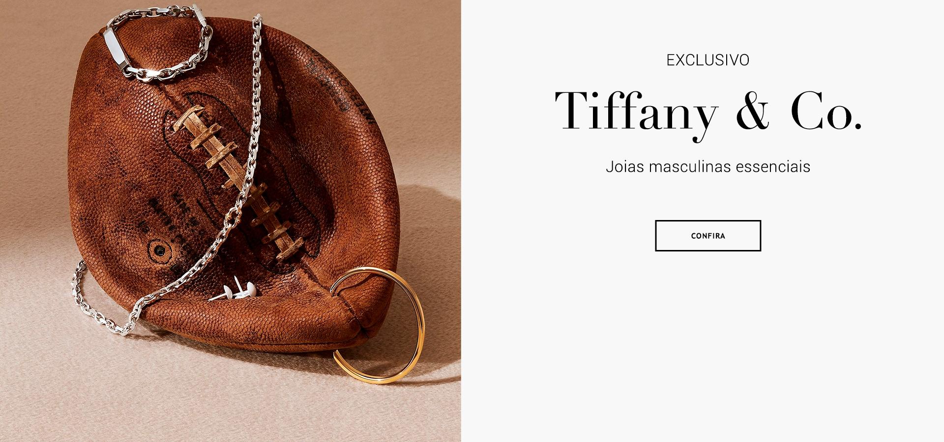 Peças Fabricadas em Prata de Lei ou Ouro. Adornadas com Diamantes e Pedras Preciosas. Presente Dia dos Pais Joias Tiffany & Co Brasil Online