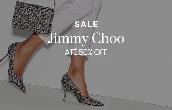 Sale - Jimmy Choo- Bolsas e sapatos com descontos incríveis