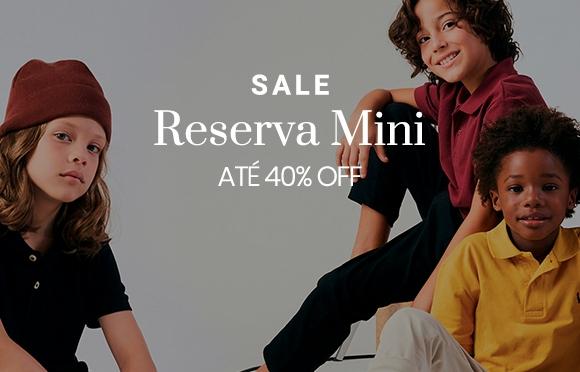 Camisa polo colorida infantil da Reserva Mini, Brasil Online pela metade do preço