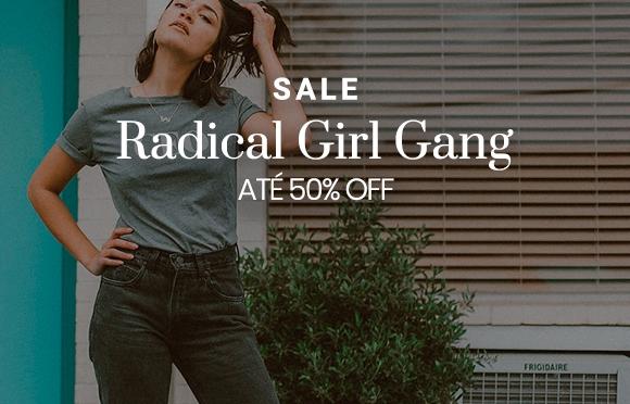 Camisetas Radical Girl Gang